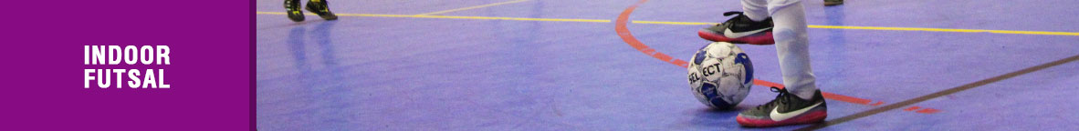 Indoor Futsal Banner Picture linking to the Indoor Futsal Page