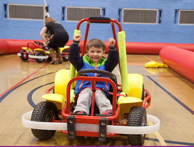 Children's Parties - Go Karting Party Image 1 | Sports Connexion