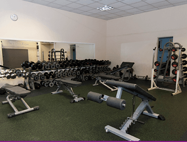 Inside our Coventry Gym Weights Rooms at Sports Connexion